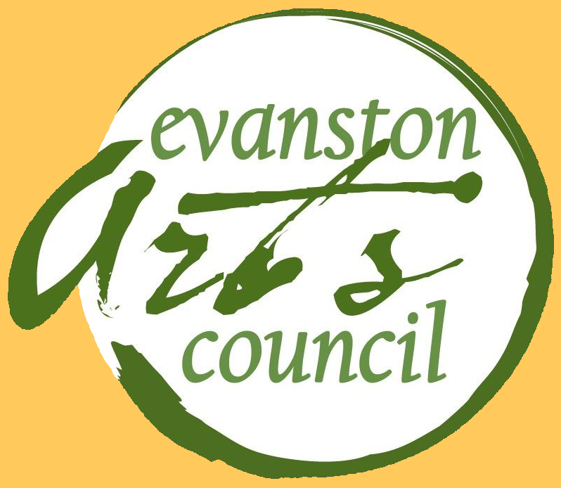 Image of Evanston Arts Council logo